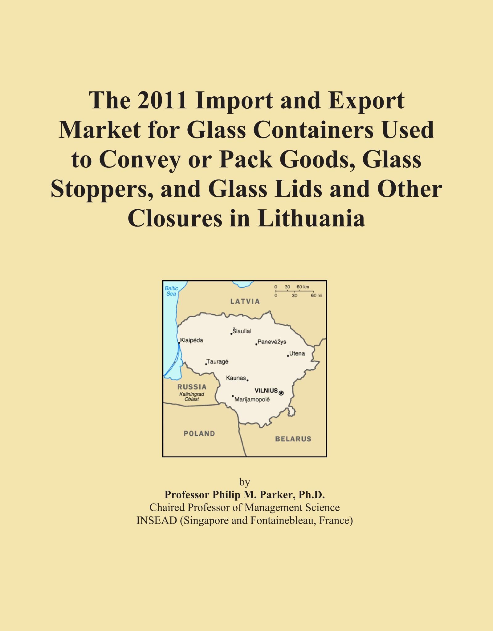 Download The 2011 Import and Export Market for Glass Containers Used to Convey or Pack Goods, Glass Stoppers, and Glass Lids and Other Closures in Lithuania pdf epub