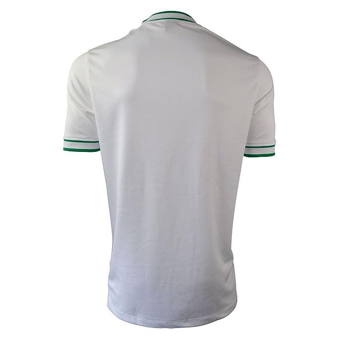Nike de Baloncesto Masculino de Disparo de la Camiseta Blanca ...