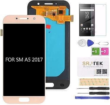 srjtek - Pantalla LCD para Samsung Galaxy A5 2017 A520 ...