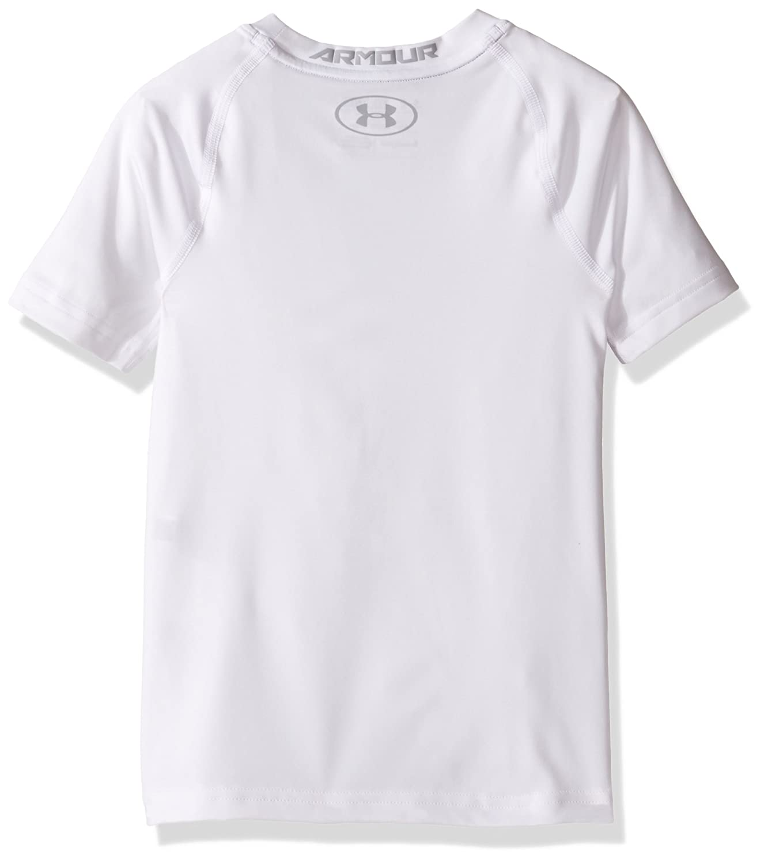 Under Armour Boys HeatGear Short Sleeve Fitted Shirt