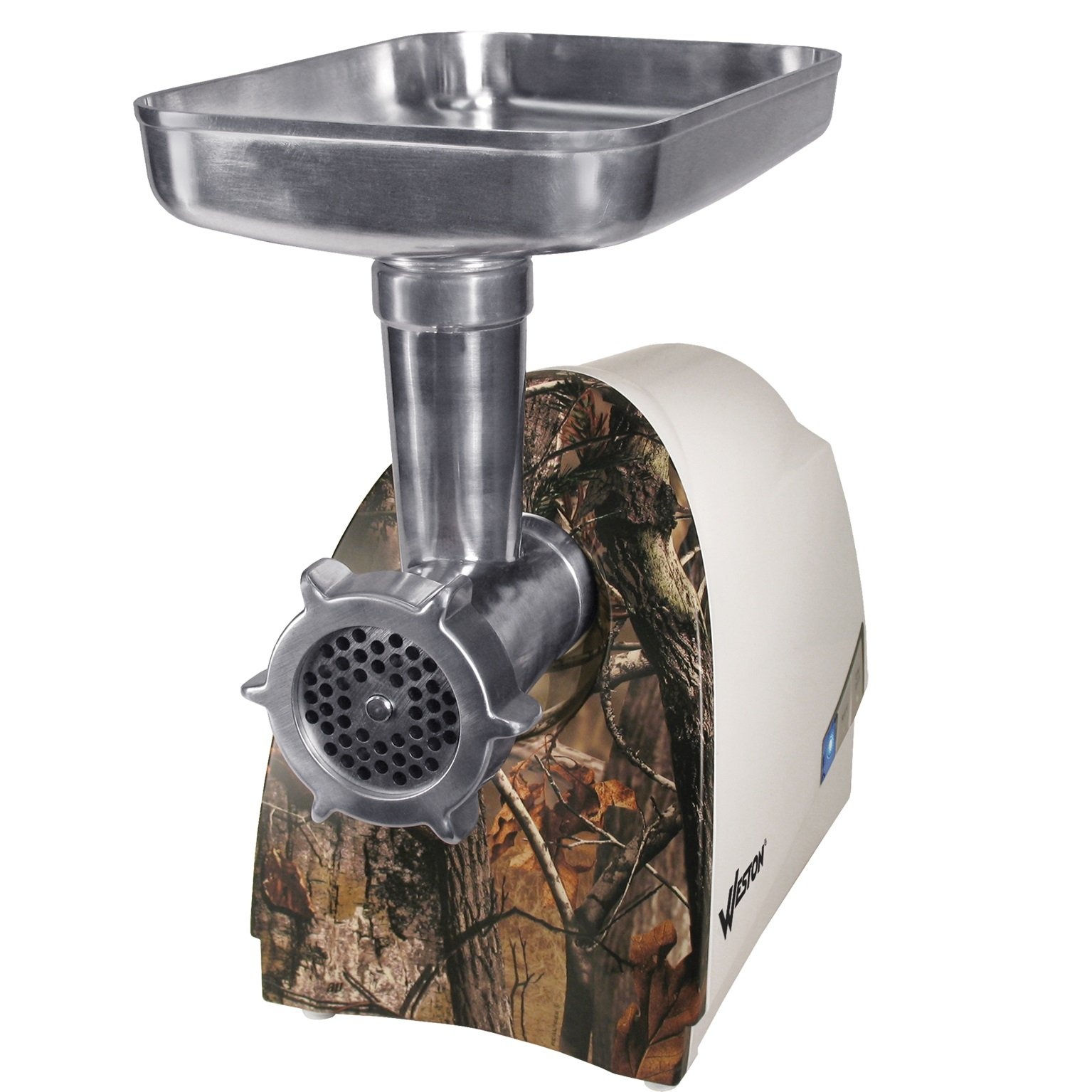 Weston 575 Watt Realtree Electric Heavy Duty Grinder, Silver by Weston