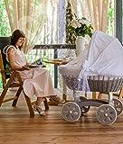 Bedside Cot Co Sleeper Height Adjustable Yellow Amazon Co