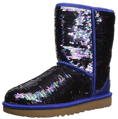 cd6b2b0e8 UGG Women's Classic Short Sequin Boot: Amazon.co.uk: Shoes & Bags