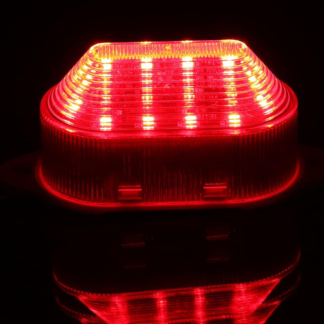 sourcing map Le clignotement voyant LED AC 220V Rouge-5051 LTE