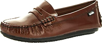 Venettini Girls 55-Gordy Leather Loafers Shoes