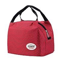 Aosbos Sac Repas Isotherme pour Déjeuner Lunch Bag Portable 6,5L