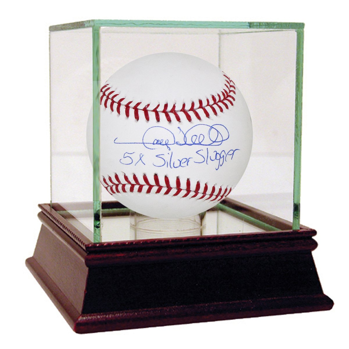 Steiner Sports MLB New York Yankees Gary Sheffield Signed Baseball with 5x Silver Slugger Inscribed SHEFBAS000006