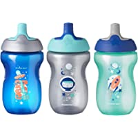 TOMMEE TIPPEE Sippy Toddler Sportee Bottle, Blue, 10 Ounce
