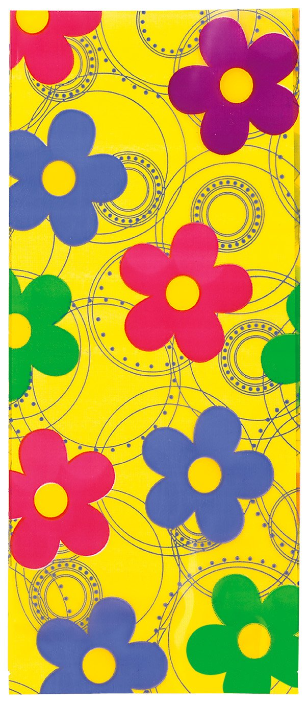 USA Produkt - Party Bags 9-1/2 X4 20/PkDancing Daisies