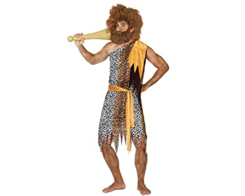 Atosa- Disfraz Hombre cavernícola de Pieles, M-L (17356): Amazon ...