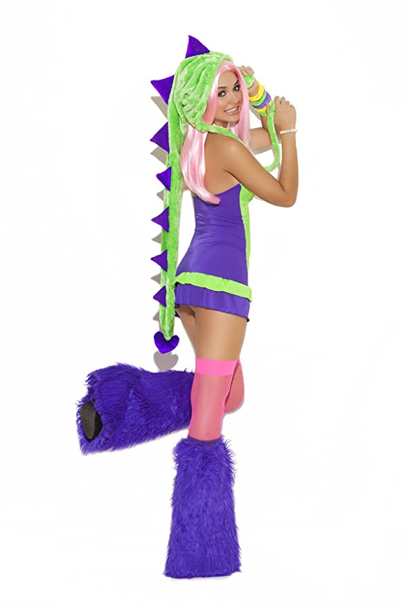 Amazon.com Sexy Womenu0027s Dino Doll Dinosaur Adult Roleplay Costume Clothing  sc 1 st  Amazon.com & Amazon.com: Sexy Womenu0027s Dino Doll Dinosaur Adult Roleplay Costume ...