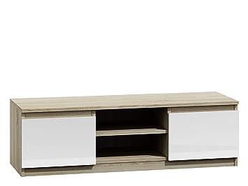 Mirjan24 Tv Lowboard Monero 120 Fernsehschrank Board Tv Tisch