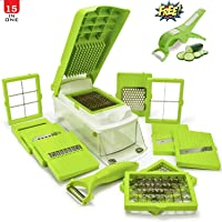 ANVEL Vegetable and Fruit Slicer and Grater/Choppers for Kitchen