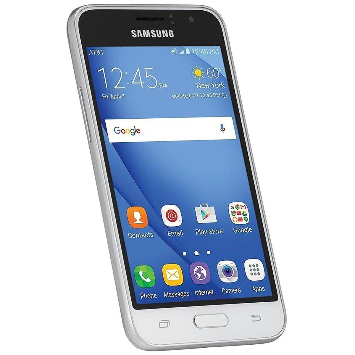 Samsung Express 3 J120a 4G LTE Unlocked GSM (White) by Samsung