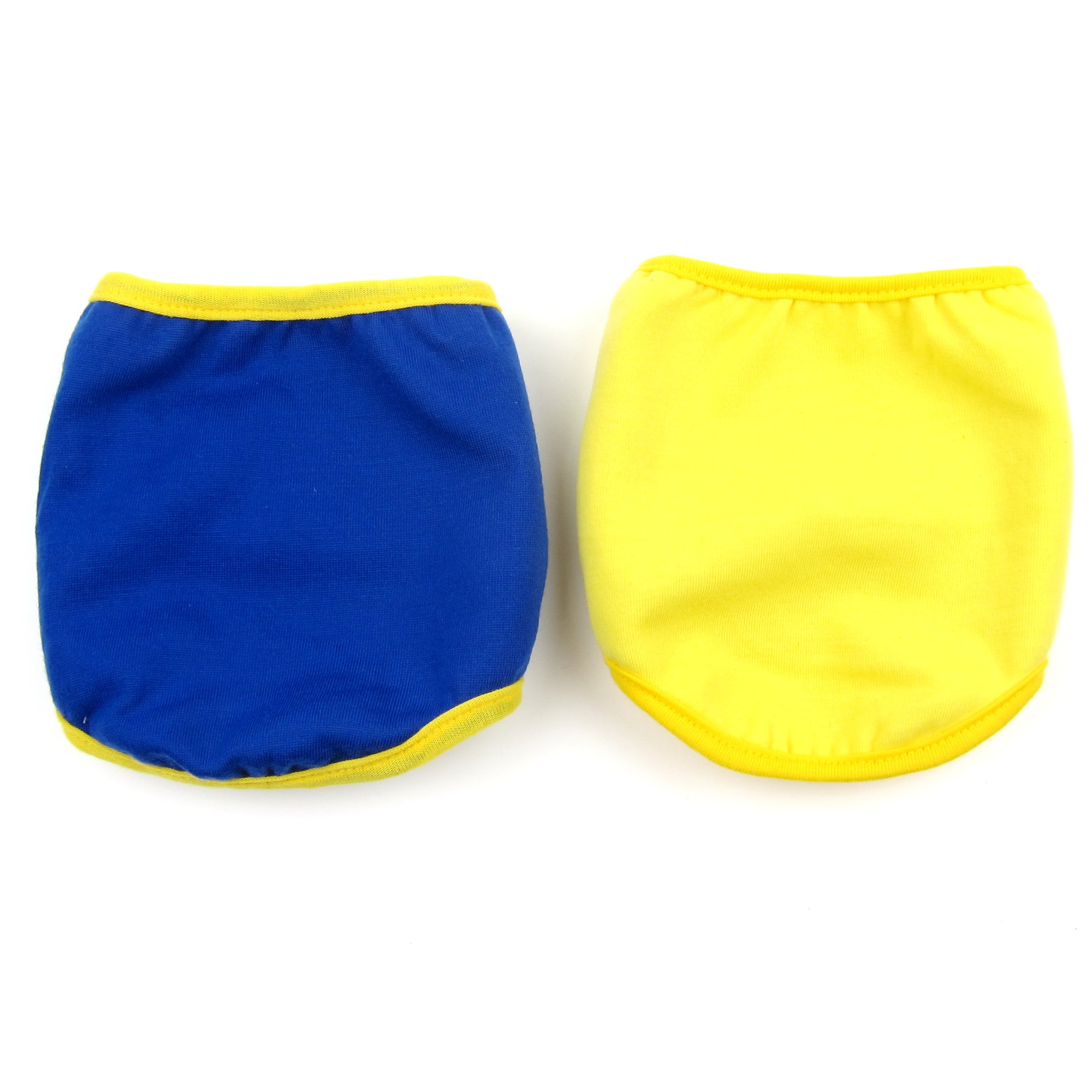 Alfie Pet by Petoga Couture - Rafael Belly Band 2-Piece Set (for Boy Dogs) - Color: Navy Yellow, Size: Large by Alfie (Image #5)