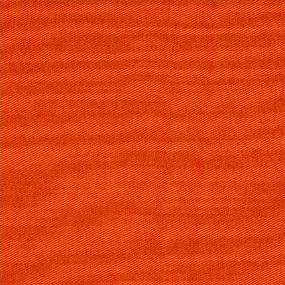 Ben Textiles Orange 60in Poly Cotton Broadcloth Fabric by The Yard