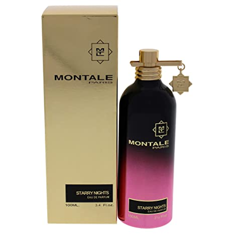 100% Authentic MONTALE STARRY NIGHTS Eau de Perfume 100ml Made in France + 2 Montale Samples + 30ml Skincare