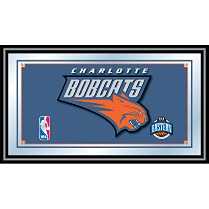 Amazoncom Trademark Global Nba Charlotte Bobcats Logo Framed