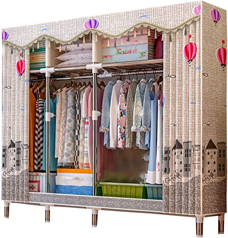 GUHAIBO Clothes Closet Organizers and Storage,Closet Systems ...