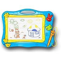 SunshineTec Magnetisch tekenbord, magnetisch toverbord, tekenbord, toverschilderbord, 31x22,5 cm groot (blauw)