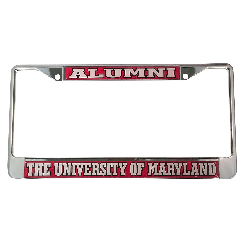 Amazon.com: University of Maryland Alumni License Plate Frame ...