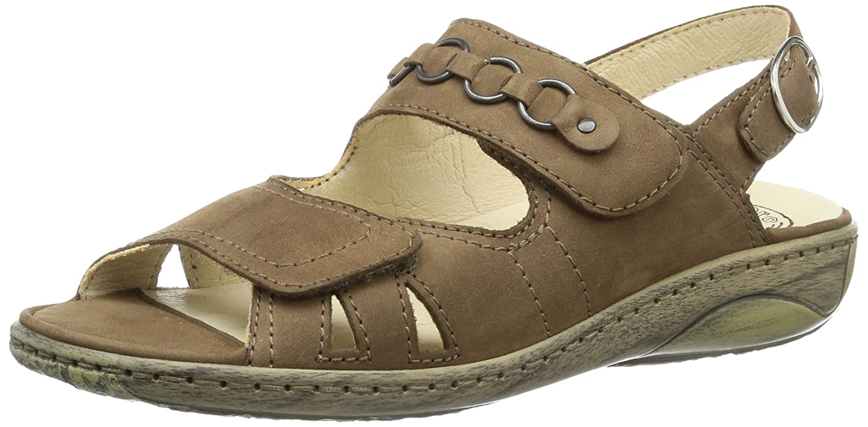Garda, Womens Open Toe Sandals Waldläufer