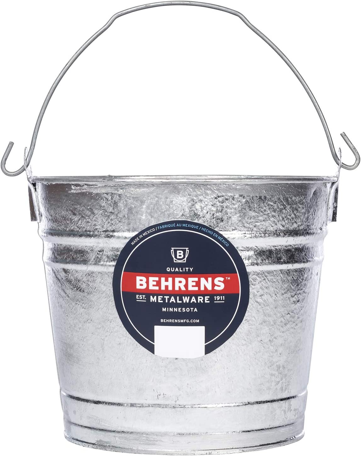 Behrens Hot-Dipped Galvanized Steel Utility Pail 8-Quart