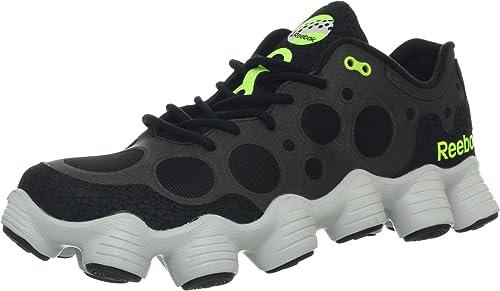 Plus Mens Black Running Shoes Size UK