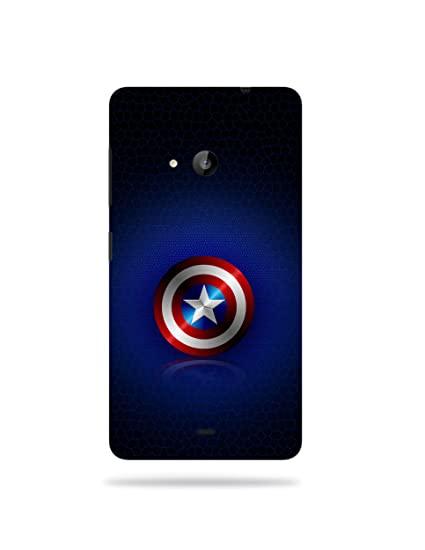 lower price with 49412 3b78a Nokia Lumia 535 Printed Mobile Back Cover: Amazon.in: Electronics