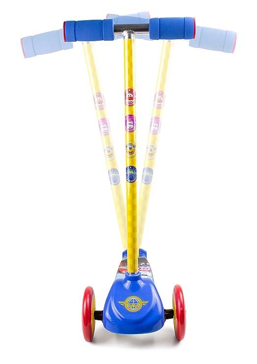 Amazon.com: Super Wings OSWI199 - Patinete de 3 ruedas con ...