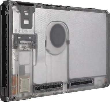 eXtremeRate Carcasa Transparente Claro para Nintendo Switch Funda ...