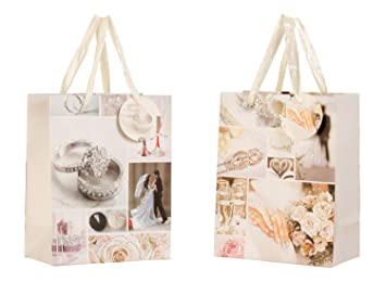 Bolsas de regalo/bolsa de regalo de papel para bodas - del ...