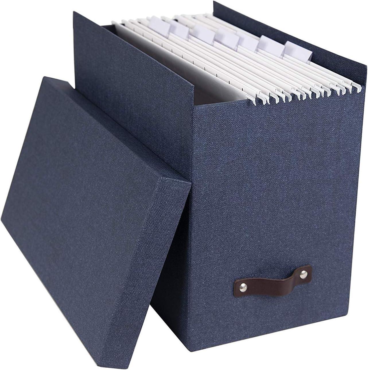 Bigso Box of Sweden 9441/C3843/Puerta Respaldo Tablero de Fibra Azul 35/x 18,5/x 27/cm