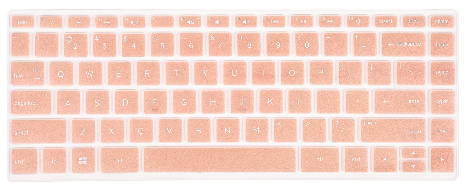 Hp 14 Inch Laptop Keyboard Cover Skin For Pavilion X360 14m Protector Silicone Ba