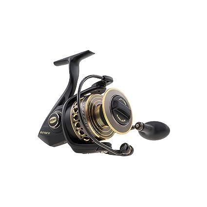 amazon com penn 1338215 battle ii 1000 spinning fishing reel