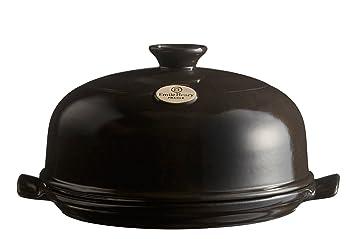 Emile Henry EH799508 - Molde de pan (cerámico, 33,5 x 28,5 x 16,5 cm), color negro: Amazon.es: Hogar