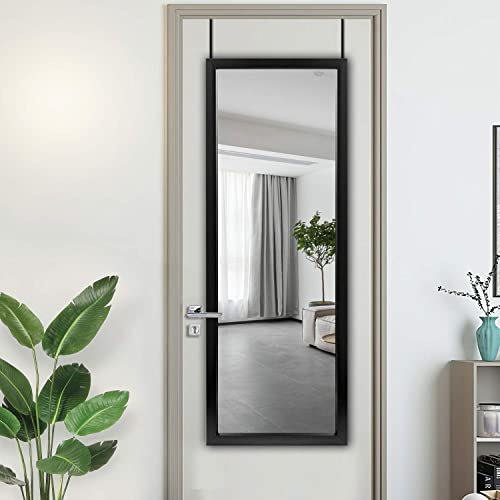 NeuType Door Mirror Full Length Mirror Door Hanging Mirror Over Door Mirror