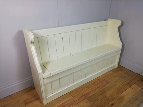 Formby Monks Bench New White Farrow Ball Paint 4 Ft