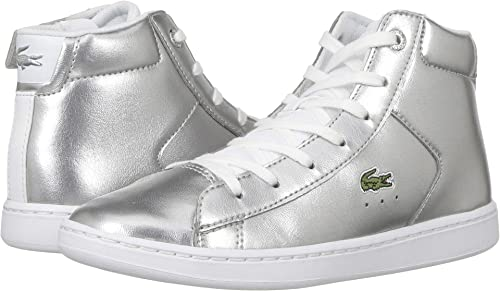 8d9731b7a Amazon.com  Lacoste Kids Womens Carnaby Evo Mid 318 (Little Kid)  Shoes