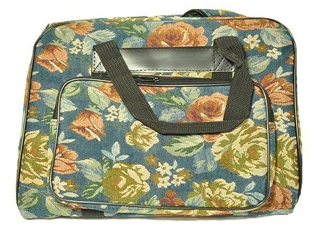 Amazon.com: Sew Easy máquina de coser floral bolsa Bag: Home ...