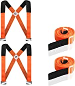 HQQNUO Moving Straps, 2-Person Shoulder Lifting and Moving System for Appliances,