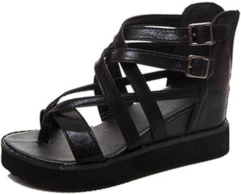 Gimekiss Pumps Womens Sandal Leather Sandal