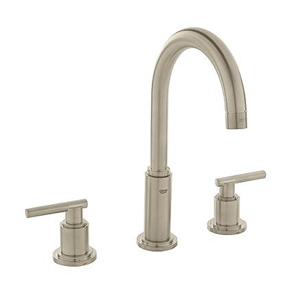 Amazon.com: Atrio 8 in. Widespread 2-Handle High Arc Bathroom Faucet ...