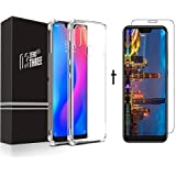 Combo of Tempered Glass Screen Protector with Shockproof Back Cover for Redmi 6 PRO (2018)