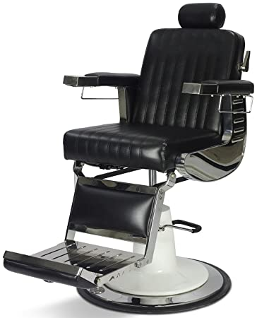 u0026quot;Grantu0026quot; Vintage Reclining Hair Salon Barber Chair  sc 1 st  Amazon.com & Amazon.com:
