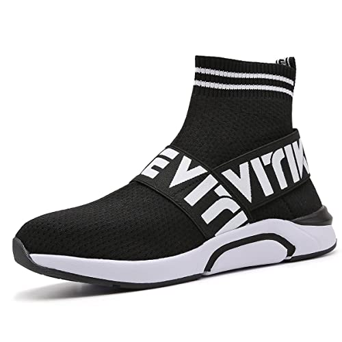 fc8af88da4415d Littleplum Kids Fashion Flyknit Sneakers Running Shoes Breathable Outdoor  Casual Sports Shoes Ultra Boost High-
