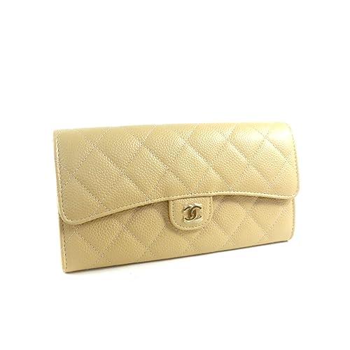 342b1966e631 Amazon   [シャネル ]二つ折り 長財布 マトラッセ A80758 [並行輸入品 ...