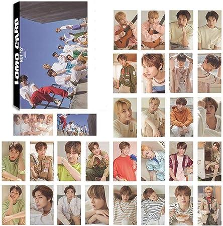 per Confezione NCT 1 Unit yangzhoujinbei Carino NCT Collective LOMO Box 30 Fogli
