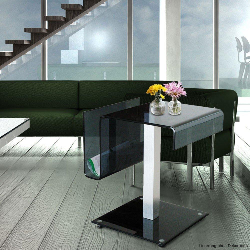 Glastisch Wohnzimmer Esszimmer Küche Glas Tisch Beistelltisch BHP B154143:  Amazon.de: Küche U0026 Haushalt