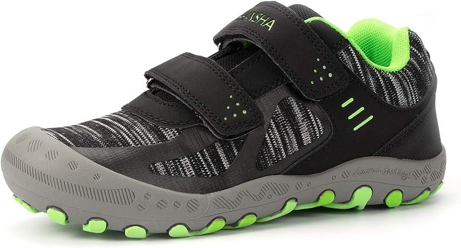 Amazon.com | Mishansha Boys Girls Hiking Shoes Mesh Knit Low Top Sneakers Outdoor  Trekking Walking Climbing Running | Hiking Shoes